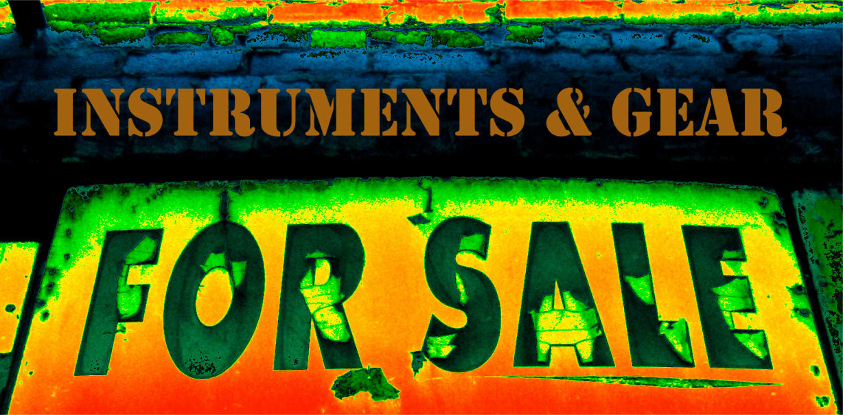 Instruments & Gear For Sale